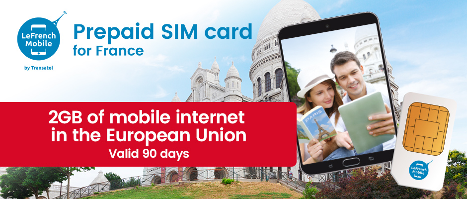Brand New : European prepaid Data SIM card