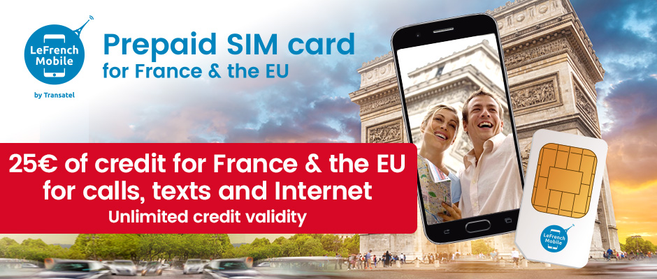 Brand New : European prepaid SIM card